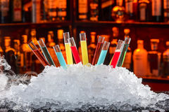 Colorful cocktails Royalty Free Stock Photography