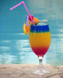 Colorful Coctail Royalty Free Stock Photos
