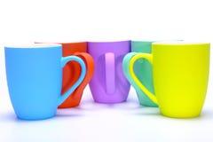 Coffee mugs Stock Photography