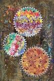 Colorful cogwheels Royalty Free Stock Photo