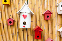 Free Colorful Collection Of Birdhouses Stock Photography - 28697432