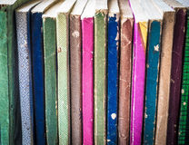 Colorful Collection of Old Paperback Songbooks Stock Photos