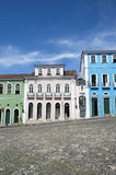 Colorful Colonial Architecture Pelourinho Salvador Brazil Royalty Free Stock Photography