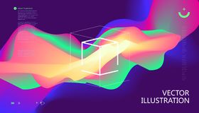 Colorful color gradients. Colorful color gradients, abstract background Stock Illustration