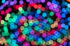 Colorful color light blur bokeh background out of focus Royalty Free Stock Photography
