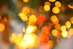 Colorful color lights bokeh blur background, Chrismas Stock Photography