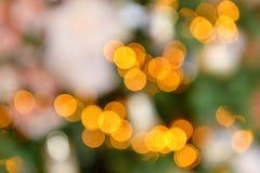 Colorful color lights bokeh blur background, Chrismas Stock Photos