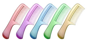 Colorful Comb Stock Image