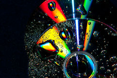 Colorful compact disk Royalty Free Stock Photos