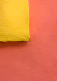 Colorful composition with wall Royalty Free Stock Images