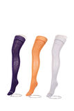 Colorful compression stockings. Royalty Free Stock Images