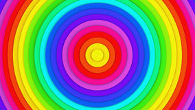 Colorful concentric lines abstract 3D rendering. Colorful concentric lines. Abstract 3D rendering Royalty Free Stock Image