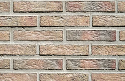 Colorful concrete blocks imitating bricks on wall Royalty Free Stock Photo