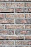 Colorful concrete blocks imitating bricks on wall Stock Image