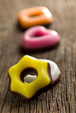 Colorful confectionery Stock Photos