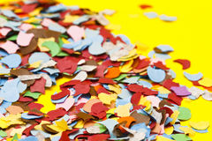 Colorful confetti Royalty Free Stock Photos