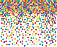 Colorful confetti background. Stock Photography