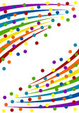 Colorful confetti background. Royalty Free Stock Photo