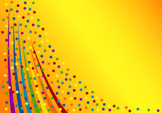 Colorful confetti background. Vector Illustration Royalty Free Stock Photos