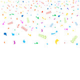 Colorful confetti background Royalty Free Stock Photos
