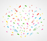 Colorful confetti background. Vector Stock Photos