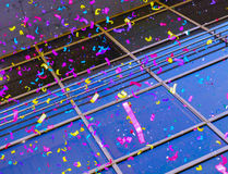 Colorful confetti. For a big party Royalty Free Stock Images