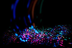 Colorful confetti light Royalty Free Stock Photo