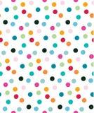 Colorful confetti seamless pattern royalty free illustration
