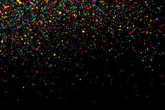 Colorful confetti vector. Colorful grainy texture vector. Royalty Free Stock Photos