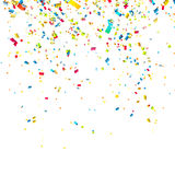 Colorful confetti Royalty Free Stock Photography