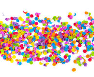 Colorful confetti. Stock Photo