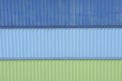 Colorful Container Royalty Free Stock Images