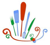 Colorful cook Royalty Free Stock Images