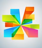 Colorful copyspace backgrounds Royalty Free Stock Images