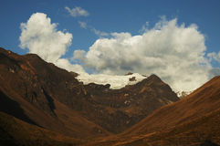 Colorful Cordilleras landscape Royalty Free Stock Photography