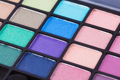 Colorful cosmetic set and makeup Stock Image