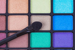 Colorful cosmetic set and makeup Royalty Free Stock Photos