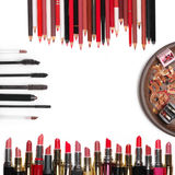 Colorful cosmetic set Royalty Free Stock Photos