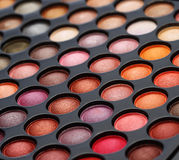 Colorful cosmetics set Stock Image