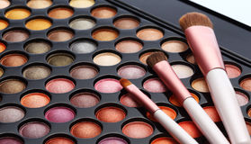 Colorful cosmetics set. For make up and beauty Royalty Free Stock Photos
