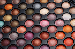 Colorful cosmetics set. For make up and beauty Royalty Free Stock Image