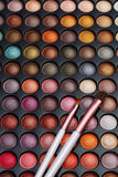 Colorful cosmetics set. For make up and beauty Royalty Free Stock Photography
