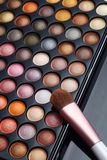 Colorful cosmetics set. For make up and beauty Royalty Free Stock Images