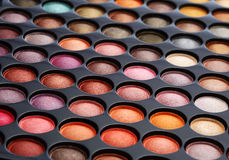Colorful cosmetics set Royalty Free Stock Image