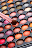 Colorful cosmetics set Royalty Free Stock Images