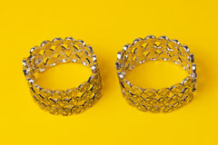 Colorful  costume jewelry ring Stock Image