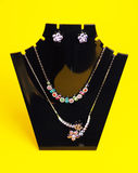 Colorful  costume necklace Royalty Free Stock Photos
