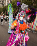 Colorful Costume In Parade Royalty Free Stock Images