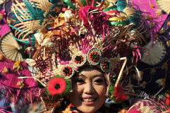 Colorful Costume to Attract Tourist Stock Photography