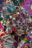 Colorful Costume to Attract Tourist Stock Images